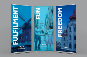 high quality Roll Up Banners