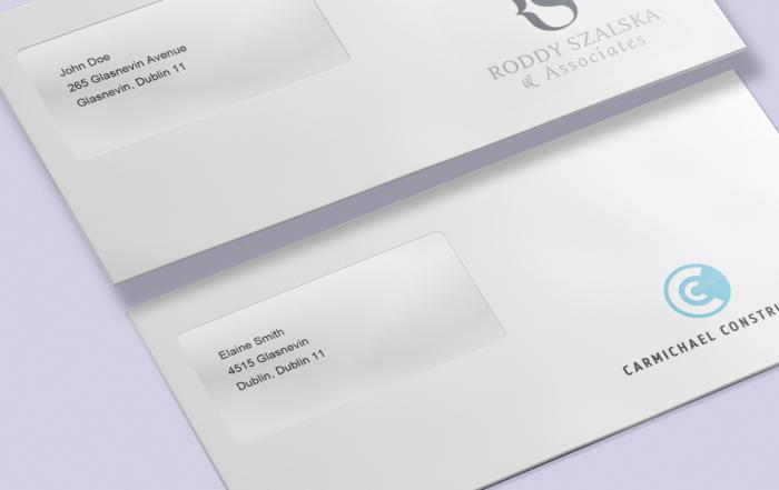 envelope printing Dublin
