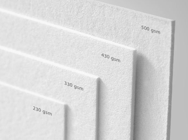 paper type - business cards