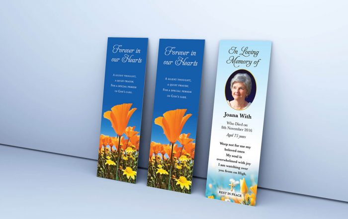 Full Colour personalised bookmarks