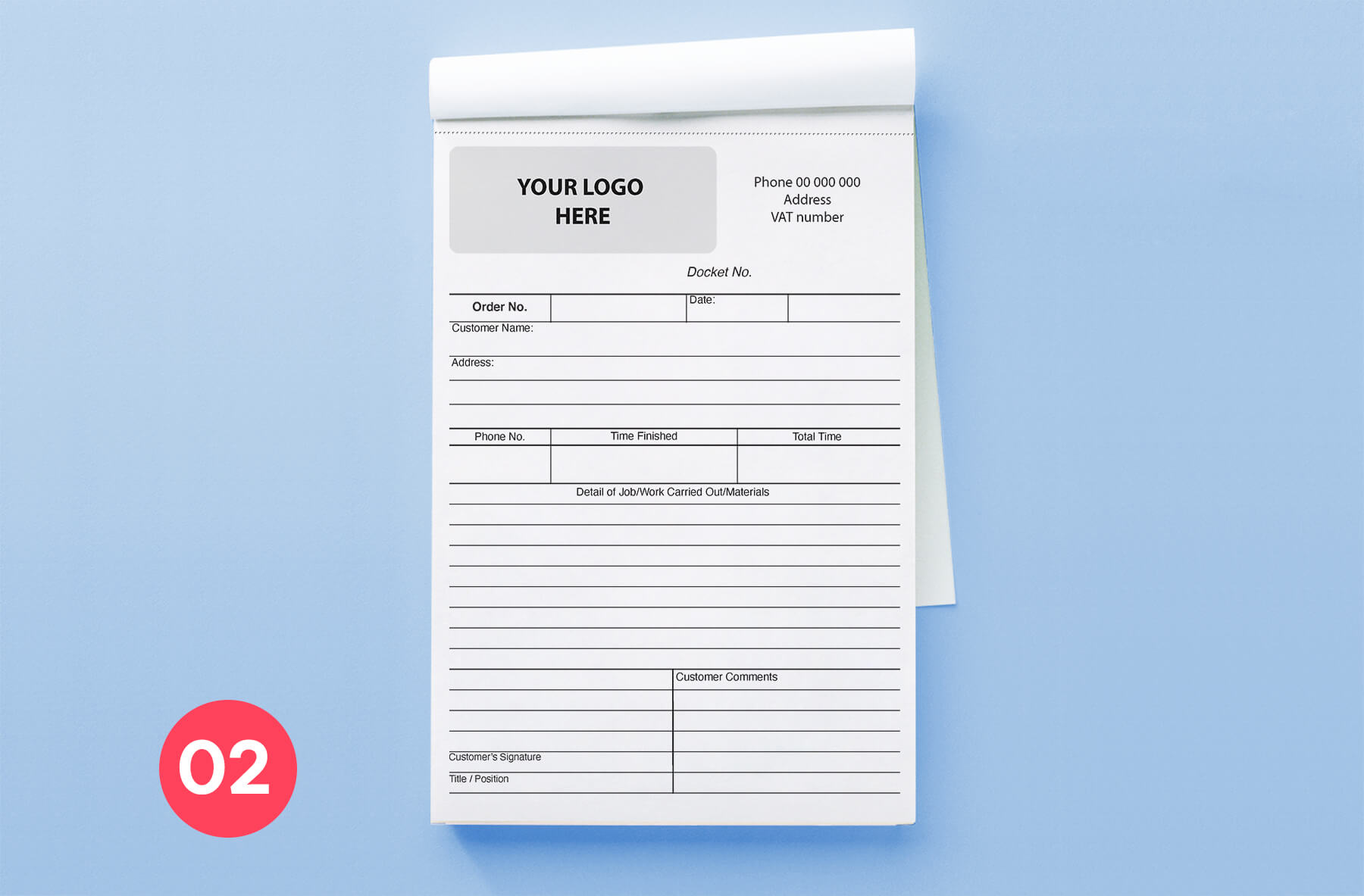 invoice Book A5-2