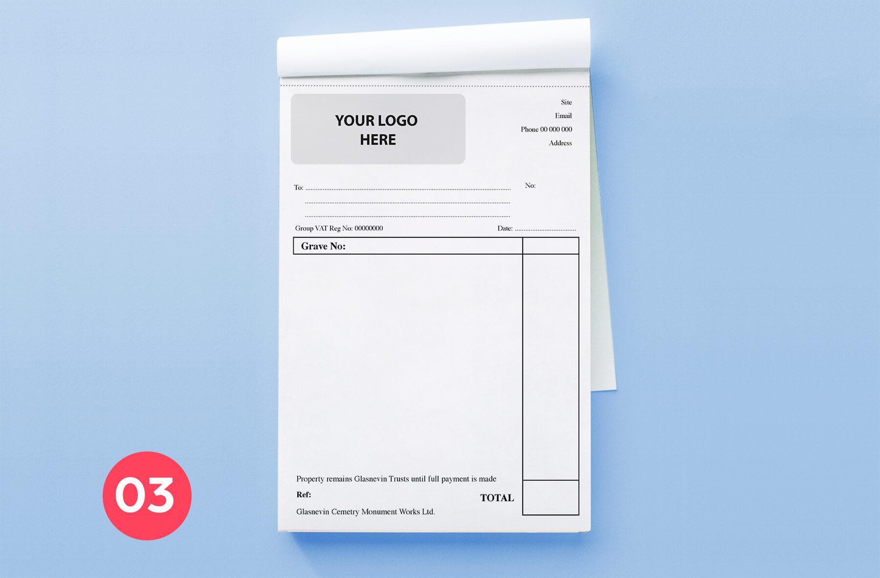 Invoice Book A5-3