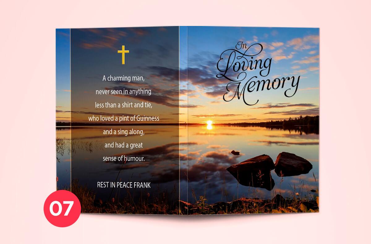 affordable memorial cards