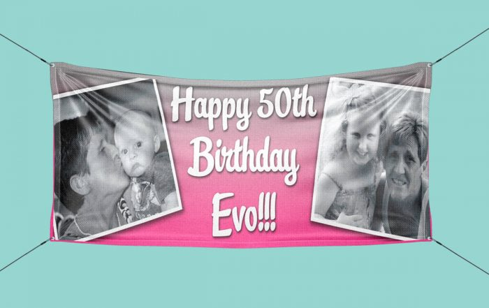 pvc birthday banners