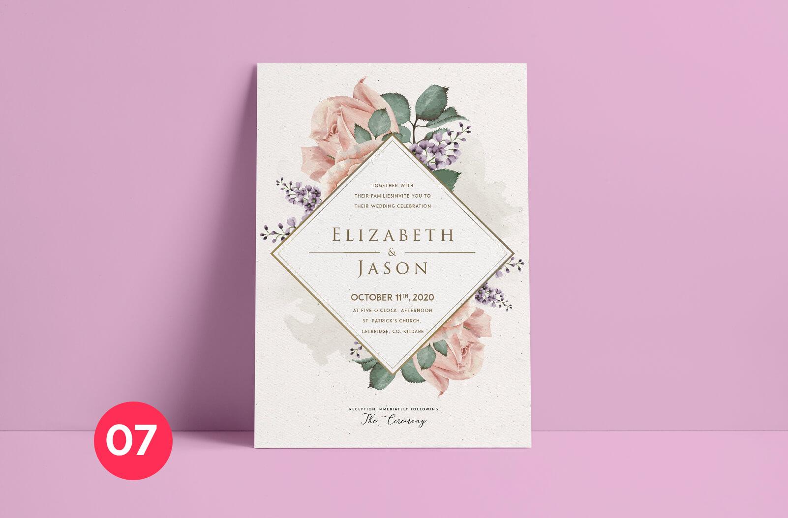 Print Ready Dublin - Wedding Invitation