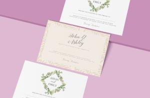 wedding invitations all around Iireland