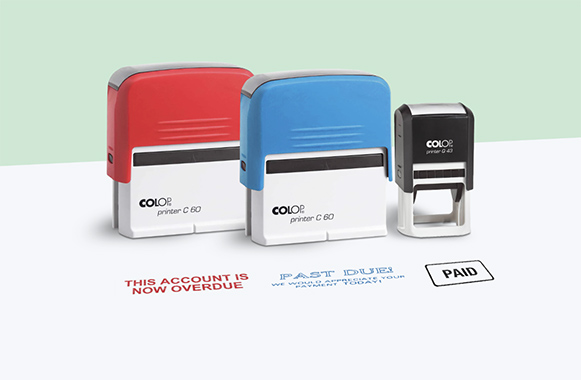 customised branded stamps