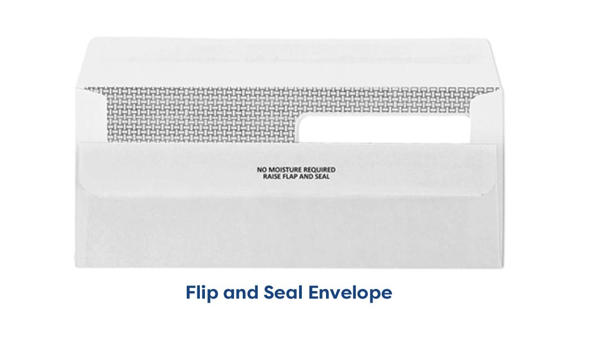 flip and seal Envelopes Ireland