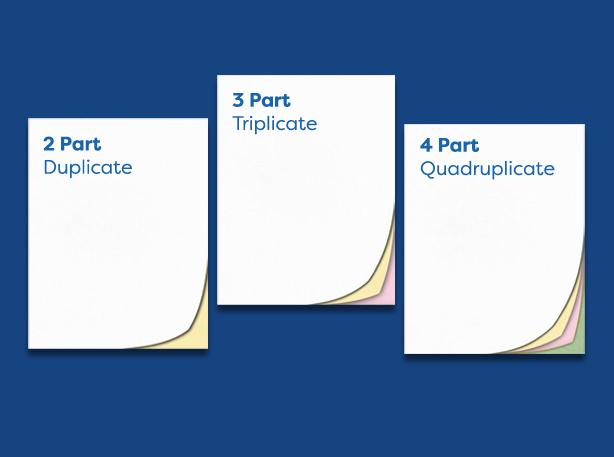 custom duplicate books (types)