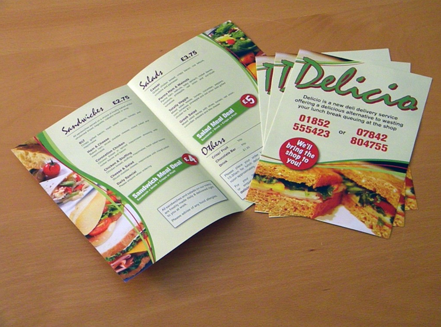 affordable laminated menu printing
